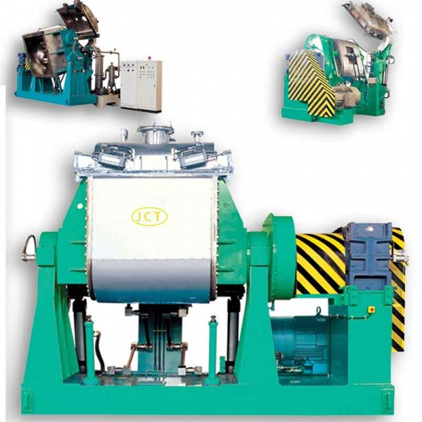Rubber kneader mixing machi...