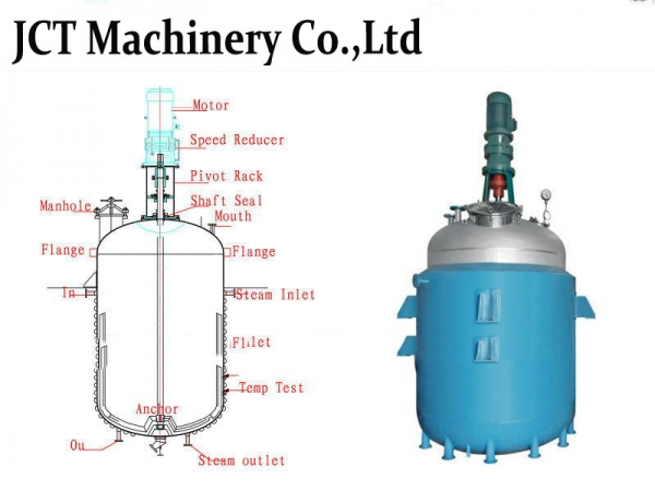 Industrial reactor with good quality