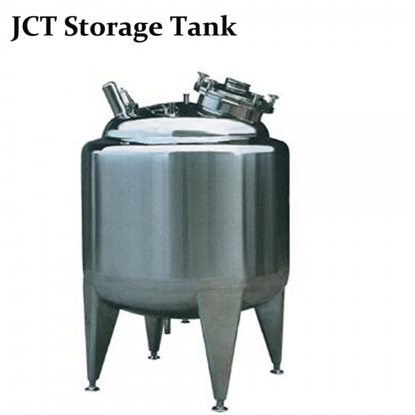 The water storage tanks