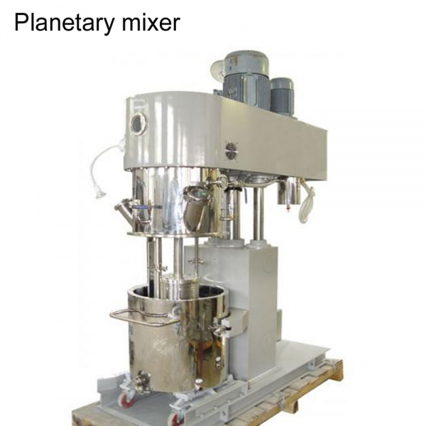 High shear cosmetic mixing equipment