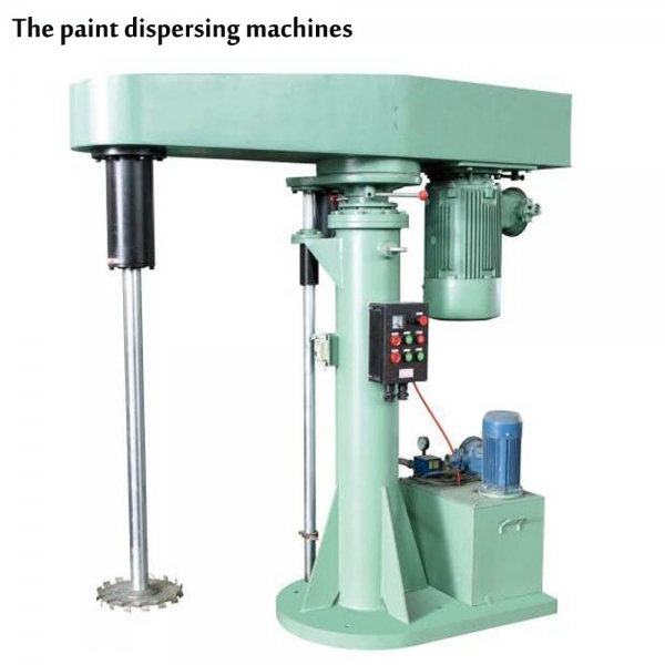 High shear paint mixing machine