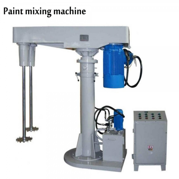 Paint mixing equipment