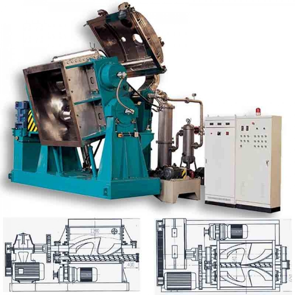 Why Dispersion kneader machinery/kneader extruder is widely used in silicone sealant?