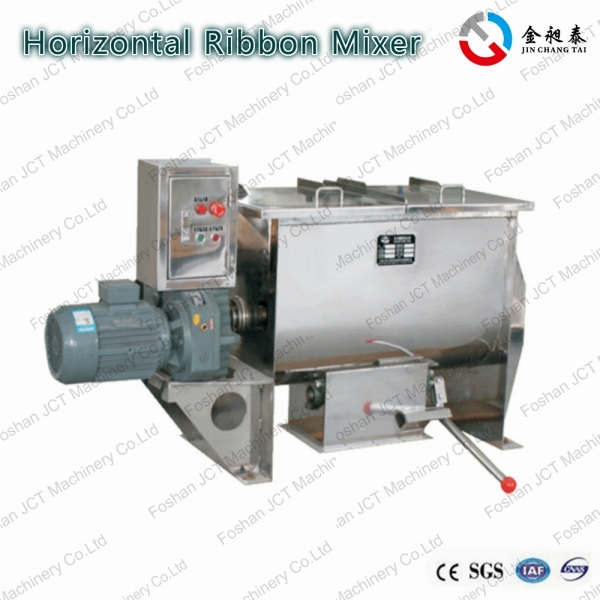 Stainless steel double ribbon mixer