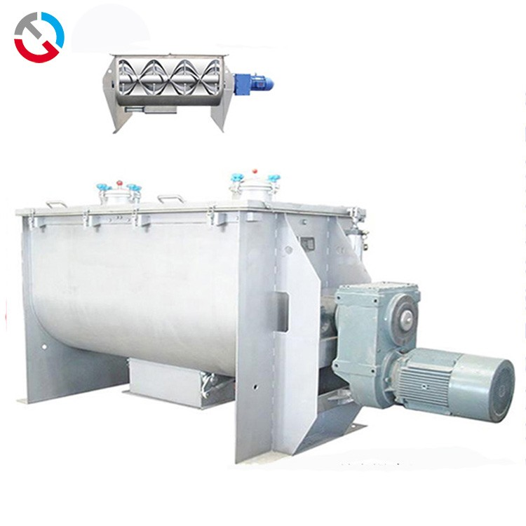 Precautions for cleaning of horizontal ribbon mixer